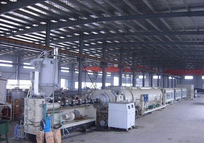 大口径管材生产设备